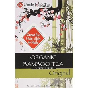 海外直送品Uncle Lees Teas Organic Bamboo Tea Original, 18 Bags