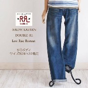 【SALE】【RRL by Ralph Lauren】ラルフローレン DOUBLE RL ダブルアールエル LOW RISE BOOTSCUT JEANS