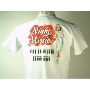 "Buzz Rickson's (バズリクソンズ)GIL ELVGREN COLLECTION""NIGHT MISSION"" S/S T-SHIRTS"