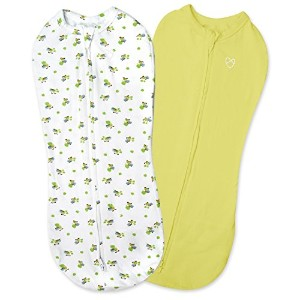 SwaddleMe Pod 2-PK, Hungry Caterpillar (NB) by SwaddleMe