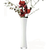 LSA FLOWER COLOUR LONG STEM VASE H480mm ホワイト【花瓶】<箱入り>