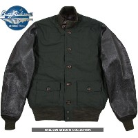 【SALE】30%OFF★BUZZ RICKSON'S /バズリクソンズ Jacket, Flying, Summer type A-1 GROSGRAIN LEATHER SLEEVE ...