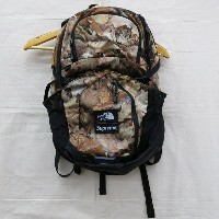 Supreme × The North Face Pocono Backpack Leaves シュプリーム × ノースフェイス ポコノ バックパック リーブス ブラウン系【中古】【カバン】【四日市...