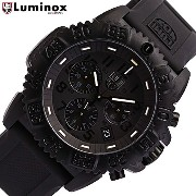 LUMINOX/ルミノックス3081BLACKOUT/ブラックアウト (ラバーベルト)Navy SEALs DIVE WATCH COLORMARK CHRONOGRAPH SERIES T25表記あ...