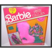 Barbie バービー フィギュア ファッション 8点セット ビンテージモデル Doll Private Collection Fashions 8 Piece Pink with Faux Fur...