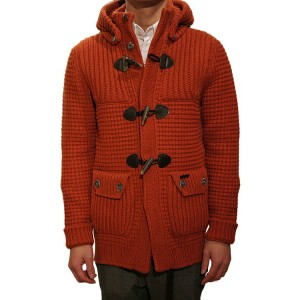 【正規取扱店】BARK(バーク)SHORT DUFFEL COAT RUST BROWN