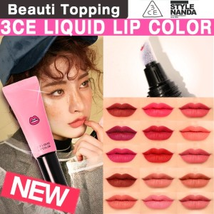 [3CE/3CONCEPT EYES]リキッドマットリップカラー LIQUID LIP COLOR  / 韓国コスメ /送料無料 [Beauti Topping]