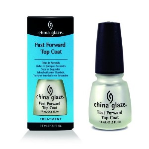 (3 Pack) CHINA GLAZE Fast Forward Top Coat CGT914 (並行輸入品)