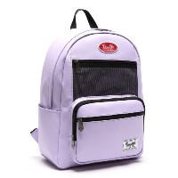 [Daylife] Leather layer backpack (lavender puple)