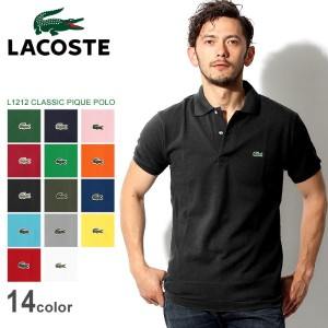 LACOSTE ラコステ ポロシャツ クラシック ピケ ポロ CLASSIC PIQUE POLO L1212 メンズ