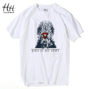 The Big Bang Theory Shirt Men This Is My Spot Song Of Ice And Fire Tee Shirts Sheldon Cooper Tee