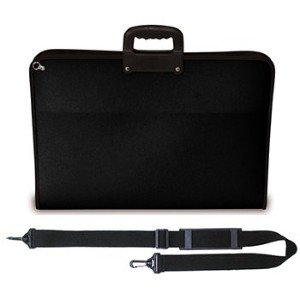 Artcare 15223310 46.5 x 3 x 35.5 cm A3 Synthetic Material Academy Case, Black by Artcare