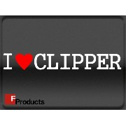 【Fproducts】アイラブステッカー/CLIPPER/アイラブ クリッパー【02P29Aug16】