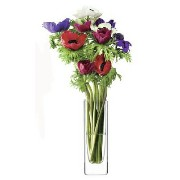 LSA FLOWER RECTANGULAR STEM VASE H190mm 【花瓶】<箱入り>
