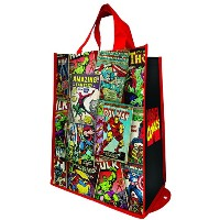 Tote Bag - Marvel Comics - Packable Shopper Hand Purse New Licensed 26076