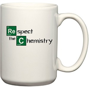 Respect the Chemistry – Breaking Bad – Funny 11またはコーヒーやティーカップ15 oz Mug by BeeGeeTees 00005 15 oz...