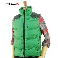 "Ralph Lauren ""RLX"" Men's MOTO Down Vest USラルフローレンRLX ダウンベスト"