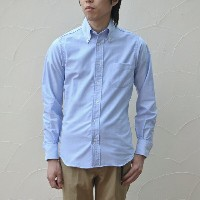 INDIVIDUALIZED SHIRTS(インディビジュアライズドシャツ)/CAMBRIDGE OX B.D.(Standard fit) -BLUE-