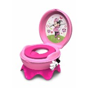 The First Years ファーストイヤーズ ディズニー ミニーマウス トイレトレーニング 子供用便座 3-in-1 Potty System, Minnie Mouse