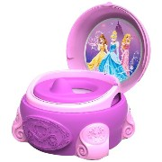 The First Years ファーストイヤーズ ディズニー プリンセス トイレトレーニング 子供用便座 Disney Potty System, Magic Sparkle
