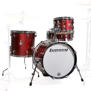 LUDWIG BREAKBEATS OUTFIT LC179 X025 WINERED SPARKLE ブレイクビーツ