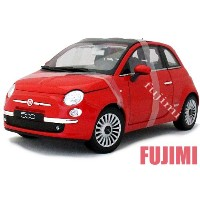 FIAT 500 red 1/18 WELLY COLLECTION 6900円【フィアット,ミニカー,赤,500 チンク ダイキャストカー】【コンビニ受取対応商品】