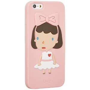 The ONE Hellogeeks iPhone 6/6S Plus シリコンケース - Lucy 女の子 HG-i6+-lu