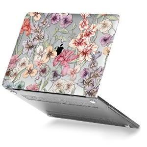 GMYLE Soft-Touch Crystal Print Hard Case New Macbook Pro 13 inch 2016 (A1706/A1708) (With/Without...