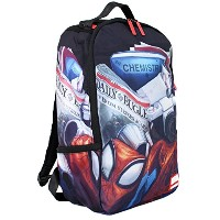 SPRAY GROUND スプレイグラウンド マーベル スパイダーマン MARVEL DAY IN THE LIFE OF PETER PARKER バックパック アメコミ コラボ リュックサック...
