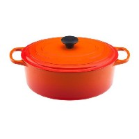 Le Creuset Signature Enameled cast-iron 6 – 3 / 4-quart Oval French Oven 6.75 qt オレンジ LS2502-312