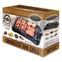 Smart Planet SIG1 Indoor Smokeless BBQ Grill, Black by Smart Planet [並行輸入品]