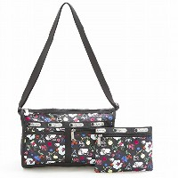LeSportsac レスポートサック ショルダーバッグ 7519 Deluxe Shoulder Satchel D839 School'S Out [並行輸入商品]
