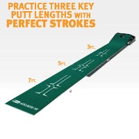 SKLZ Accelerator Pro 9' x 1' Ball Return Putting Mat【ゴルフ 練習器具】