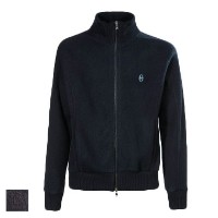 Conte of Florence(Italia Firenze) Fleece Wool Zip Sweaters (#06A【ゴルフ ゴルフウェア>ジャケット】