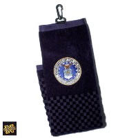 Alumni Golf Military Embroidery Trifold Towels【ゴルフ その他のアクセサリー>タオル】