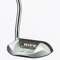 RIFE Vault Series Prodigy Black/Silver Finish Putters【ゴルフ ゴルフクラブ>パター】