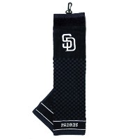 TeamGolf San Diego Padres Embroidered Towels【ゴルフ その他のアクセサリー>タオル】