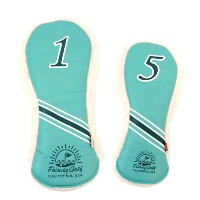 AM&E Golf Reverb Headcovers w/California Sun & Wave【ゴルフ アクセサリー>ヘッドカバー】
