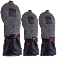 Rose & Fire Weekender Series Waxed Canvas Headcover Sets【ゴルフ アクセサリー>ヘッドカバー】