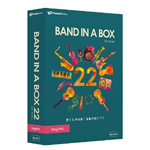 PG Music Band-in-a-Box 22 for Mac MegaPAK