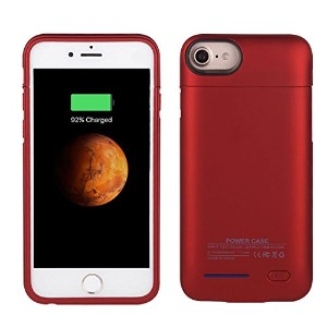 """iPhone 7 バッテリー内蔵ケース 2パーツ式,ibatti Battery case 内蔵磁性 大容量 超軽量 急速充電,モバイルバッテリー iPhone 7 6 6S 4.7""""..."""