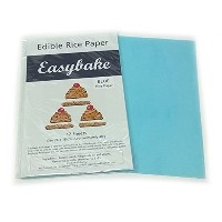Edible Rice Paper - Blue 12 Pack
