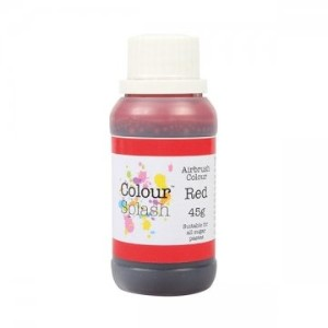 Colour Splash Airbrush Colours - Red