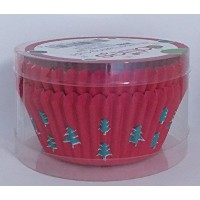 Dallies Paper Baking Cups ~ 48 Count ( Christmas Trees )
