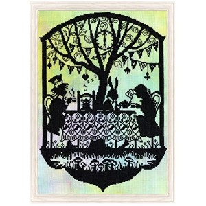 Bothy Threads クロスステッチキット Fairy Tales: Mad Hatter's Tea Party XFT5 [並行輸入品]