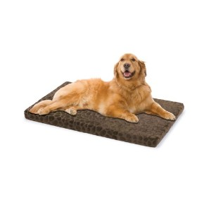 Innergy Memory Foam Crate Mat, Brown Pebble by Innergy for Pets