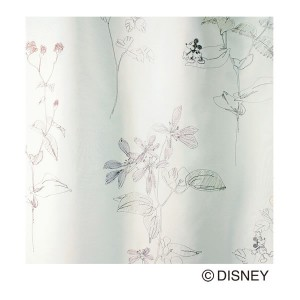 Disney MICKEY Herb M-1068 Voile&Lace100×133cm 1.5倍ヒダ 1枚 既成カーテン ボイル、レースカーテン MICKEY 日本製(代引不可)(送料無料...