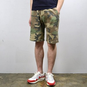 MASTER&Co.(マスターアンドコー)/CHINO SHORTS with BELT -(01)CAMO-