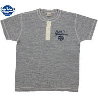 "BUZZ RICKSON'S/バズリクソンズVINTAGE SLUB HENLEY NECK T-SHIRT""PRIDE OF THE YANKEES""プリント入り、スラブ天竺 ヘンリーネックカットソ..."