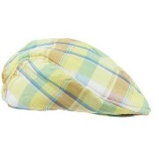 Rugged Butt イエロー帽子ドライバーズキャップ ハンチング ハット キッズ 子供 Daxton Plaid Drivers Cap ★ラゲットバッツ